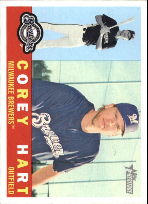 2009 Topps Heritage #241 Corey Hart