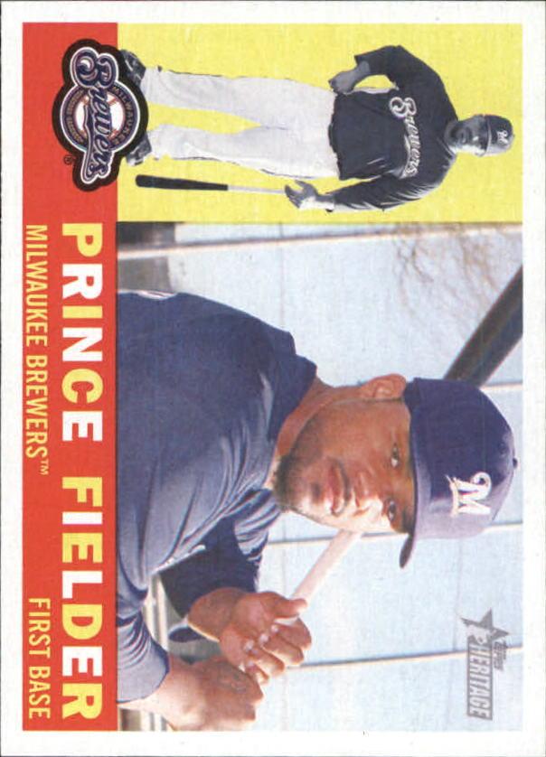 2009 Topps Heritage #380 Prince Fielder