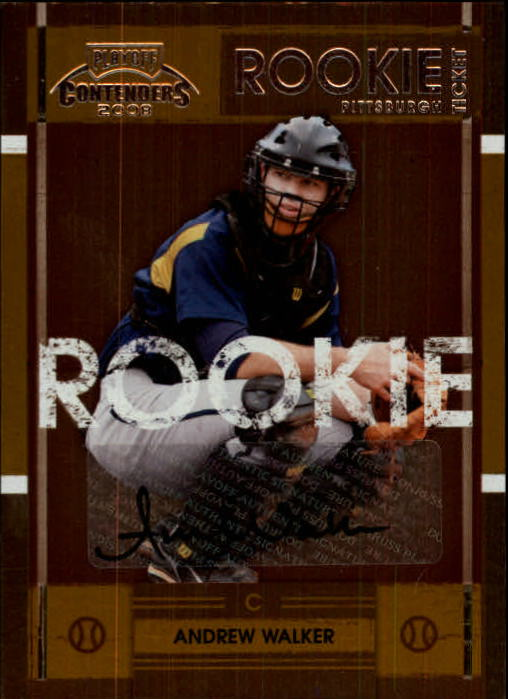 2008 Playoff Contenders #55 Andrew Walker AU/288 *