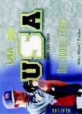 2008-09 USA Baseball National Team Jerseys #NTMM Mike Minor