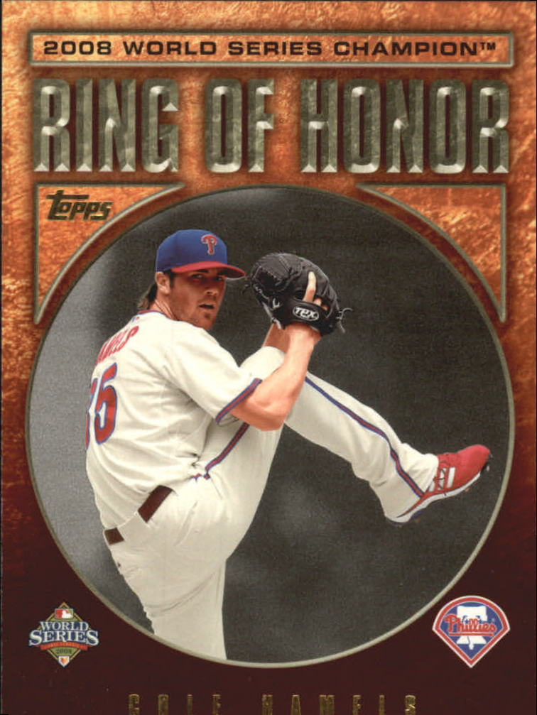 2009 Topps Ring Of Honor #RH4 Cole Hamels