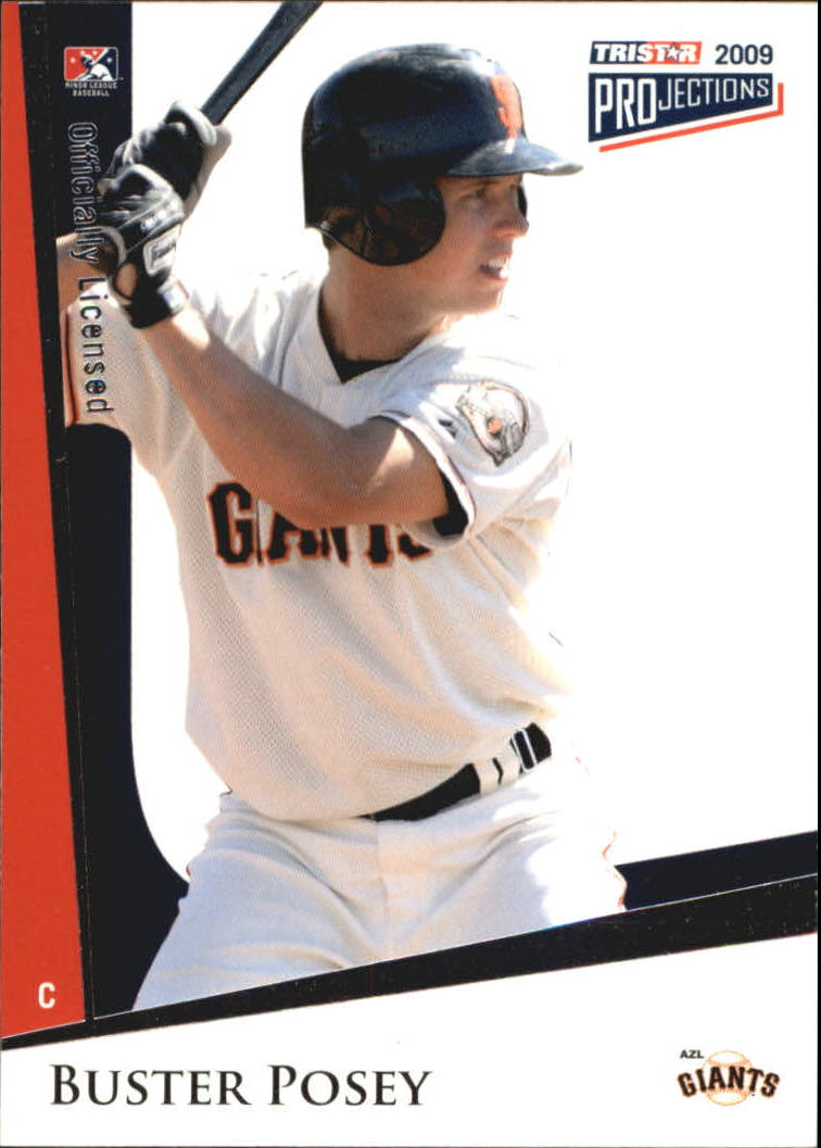 2009 TRISTAR PROjections #181 Buster Posey