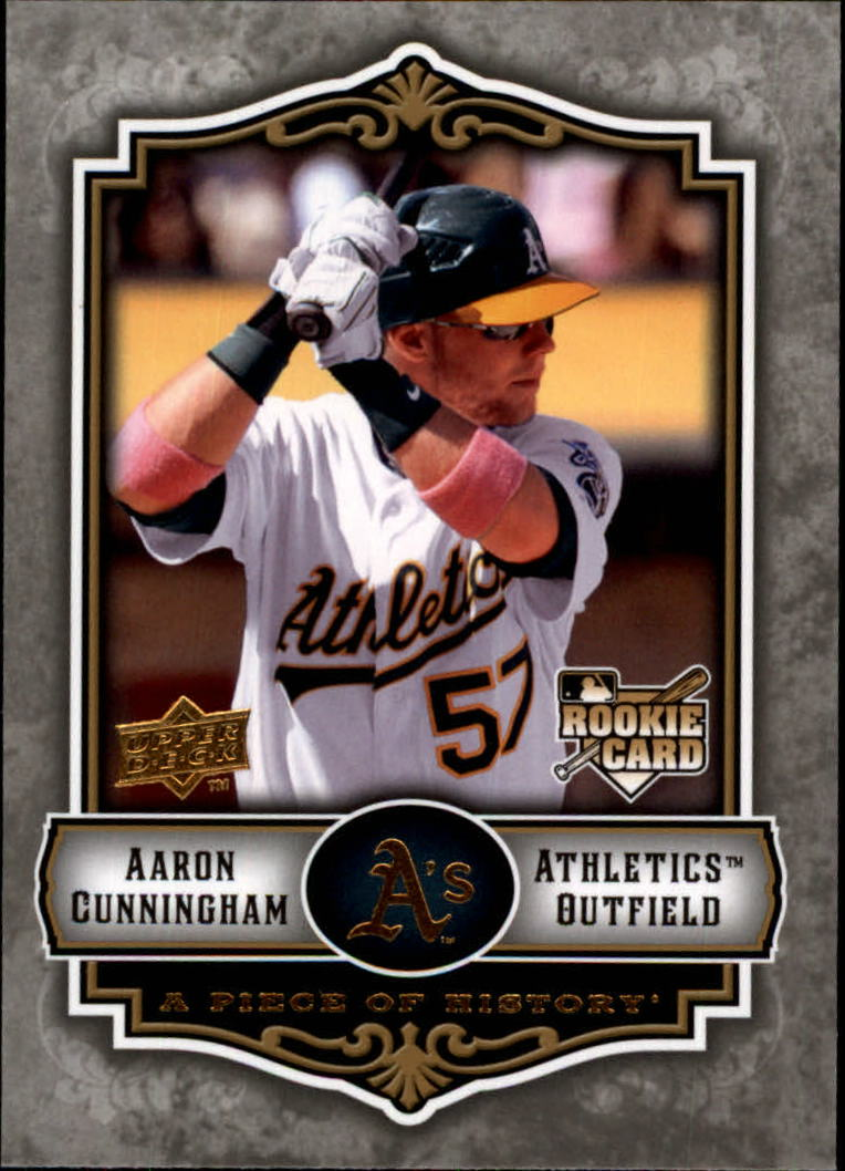 2009 UD A Piece of History #137 Aaron Cunningham RC