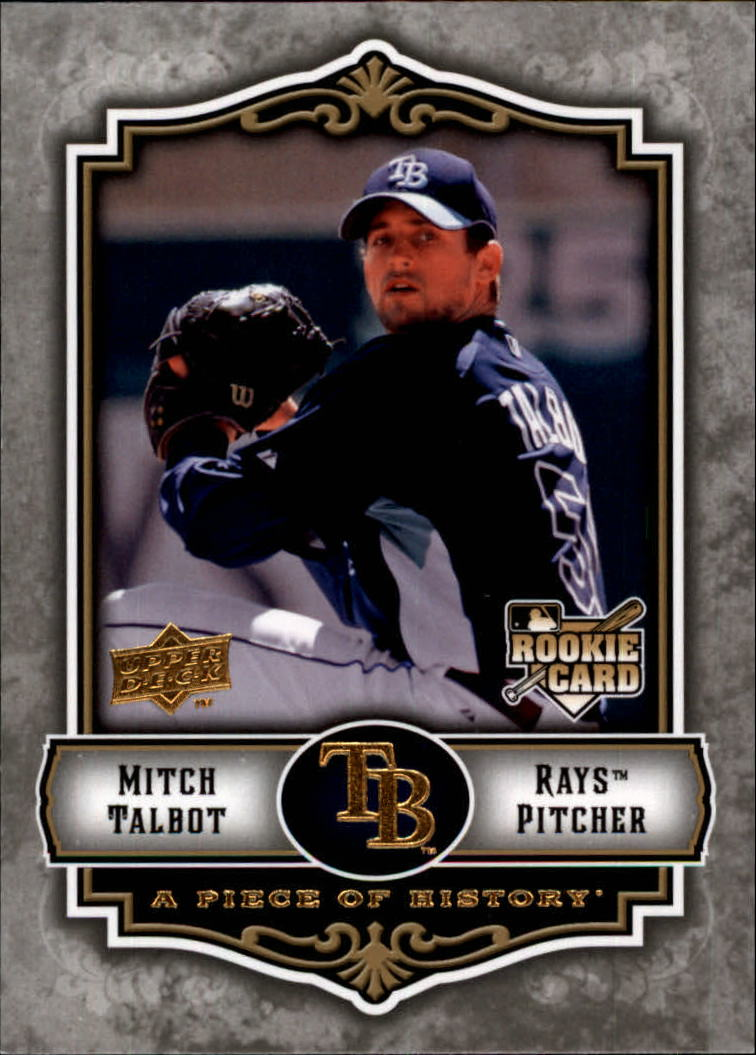 2009 UD A Piece of History #150 Mitch Talbot (RC)