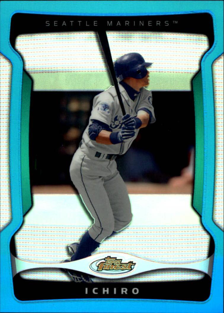 2009 Finest Refractors Blue #51 Ichiro Suzuki