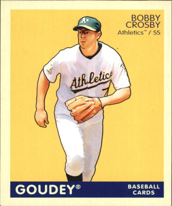 2009 Upper Deck Goudey Mini Navy Blue Back #150 Bobby Crosby