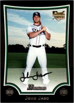 2009 Bowman #203 John Jaso RC