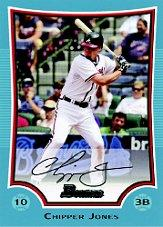 2009 Bowman Blue #9 Chipper Jones