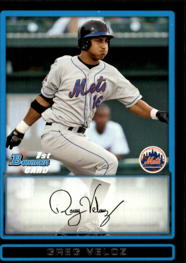 2009 Bowman Prospects #BP3 Greg Veloz
