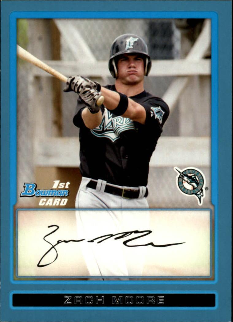 2009 Bowman Prospects Blue #BP85 Zach Moore
