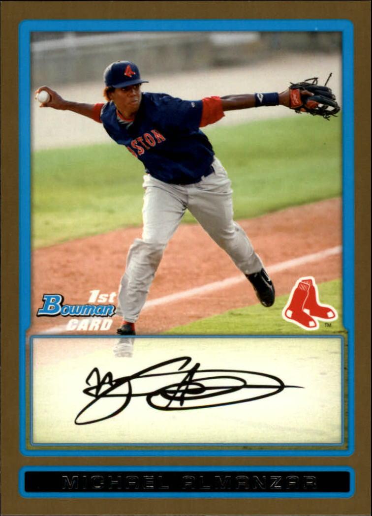 2009 Bowman Prospects Gold #BP5 Michael Almanzar