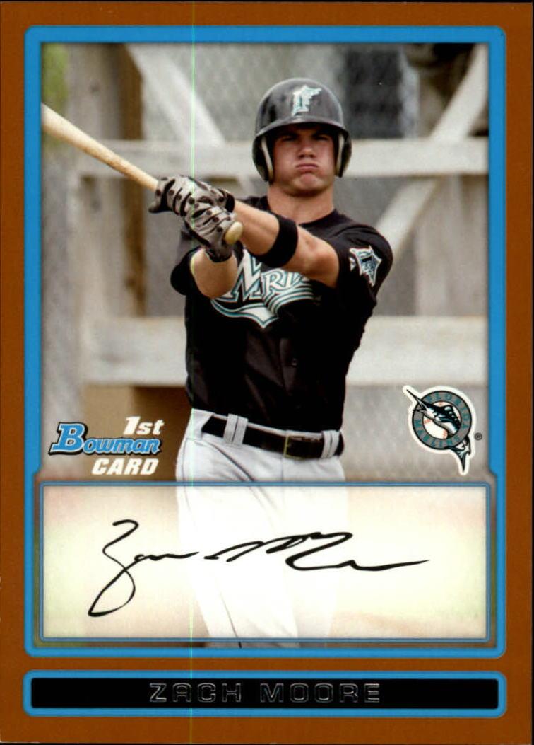 2009 Bowman Prospects Orange #BP85 Zach Moore