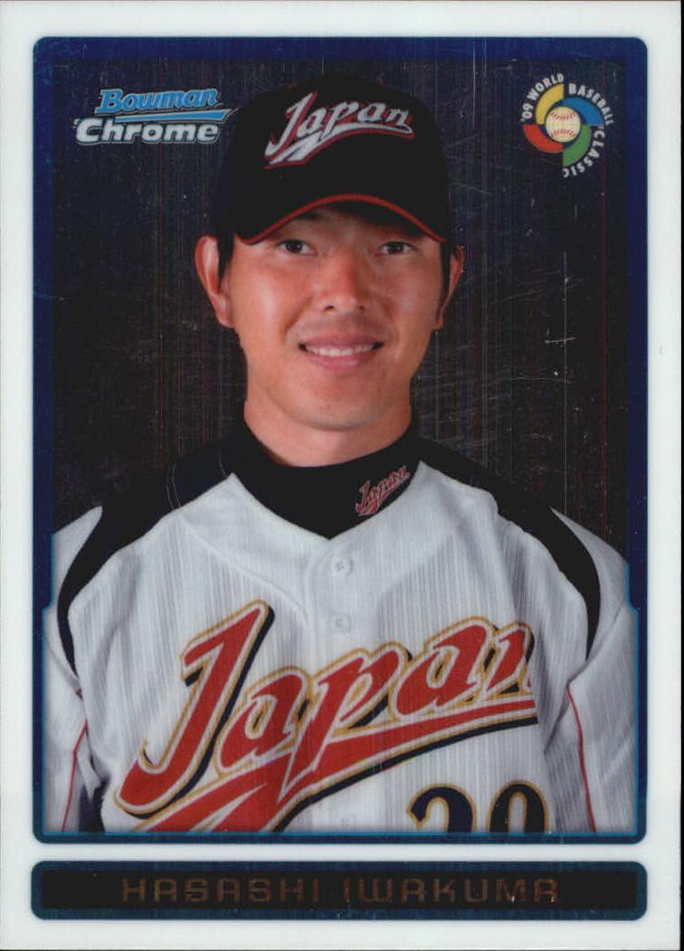 2009 Bowman Chrome WBC Prospects #BCW22 Hisashi Iwakuma