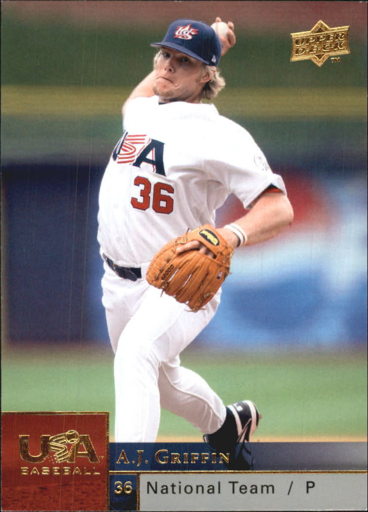 2009 Upper Deck USA National Team #AG A.J. Griffin