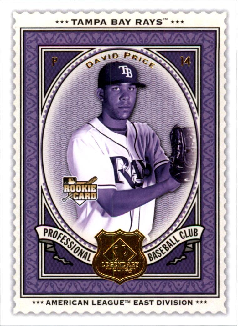2009 SP Legendary Cuts #14 David Price RC