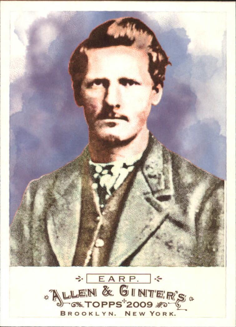 2009 Topps Allen and Ginter #234 Wyatt Earp