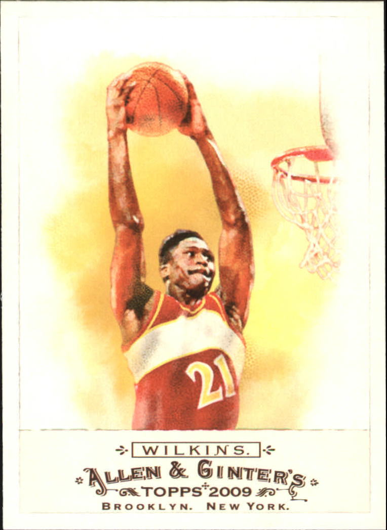 2009 Topps Allen and Ginter #346 Dominique Wilkins SP