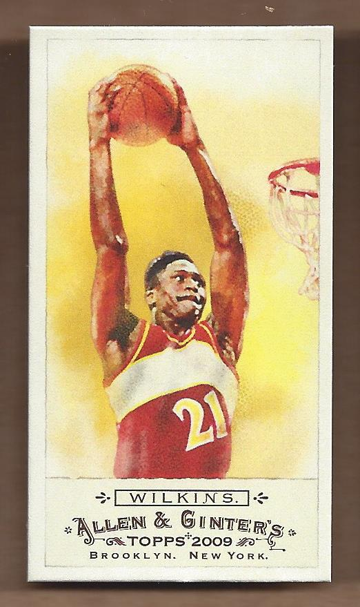 2009 Topps Allen and Ginter Mini #346 Dominique Wilkins