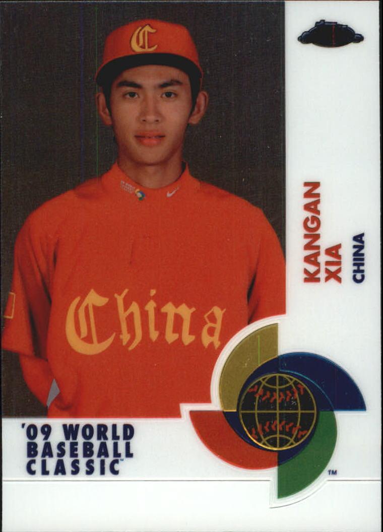 2009 Topps Chrome World Baseball Classic #W80 Kangan Xia