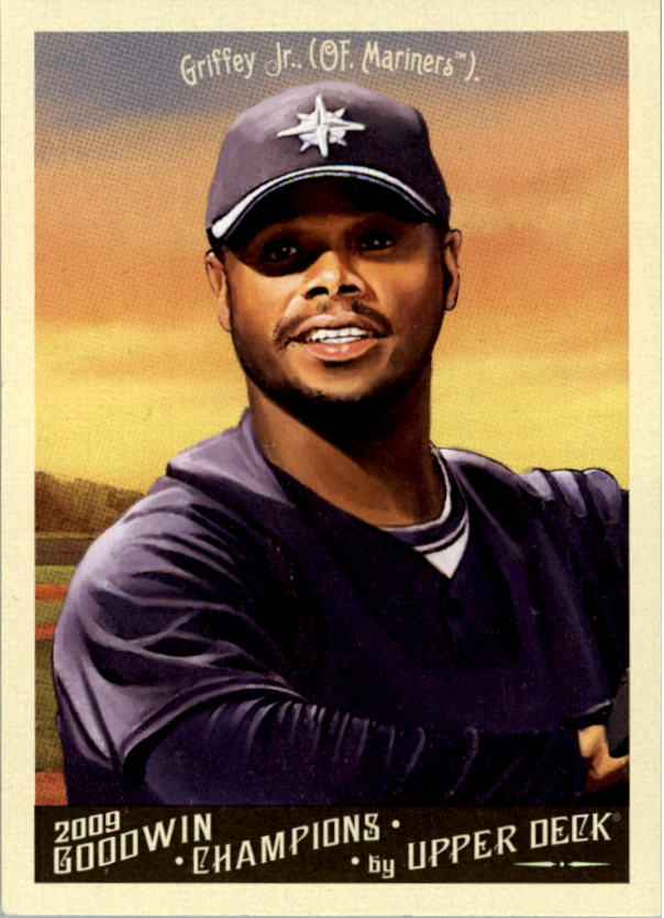 2009 Upper Deck Goodwin Champions #1a Ken Griffey Jr. Day