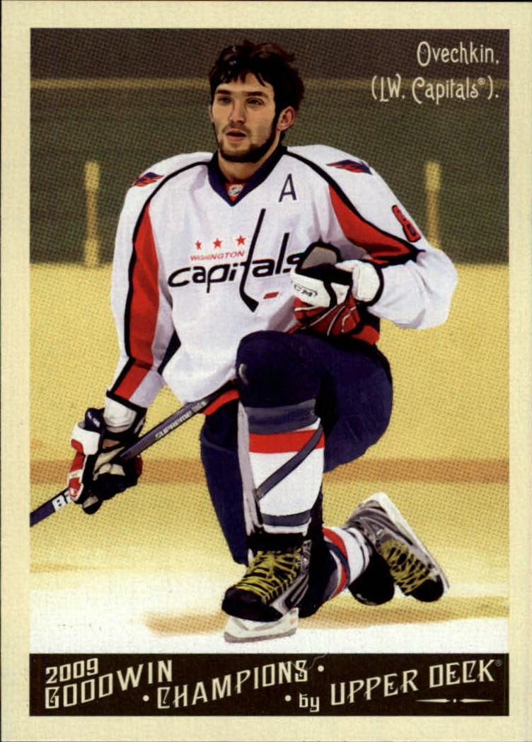 2009 Upper Deck Goodwin Champions #34 Alexander Ovechkin