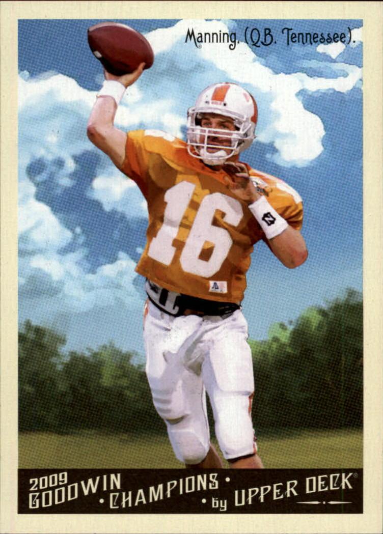 2009 Upper Deck Goodwin Champions #45 Peyton Manning