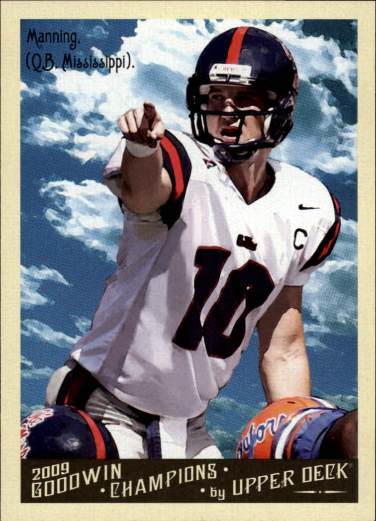 2009 Upper Deck Goodwin Champions #57 Eli Manning