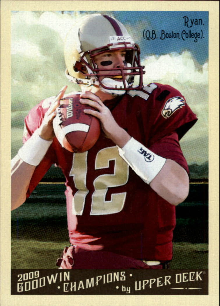 2009 Upper Deck Goodwin Champions #68 Matt Ryan