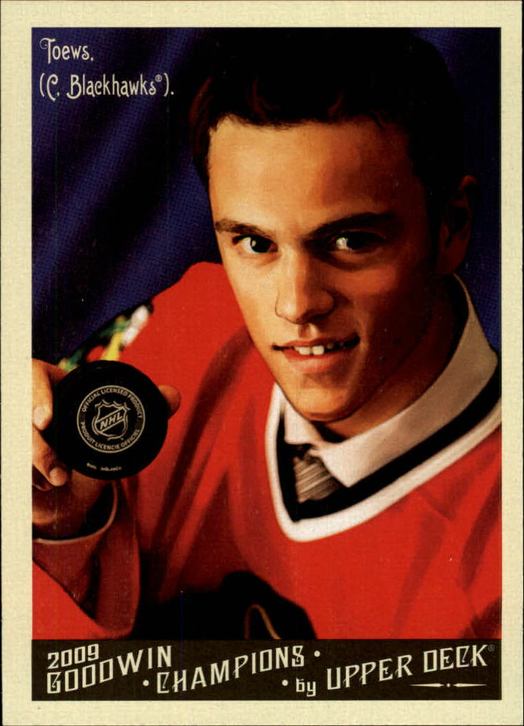 2009 Upper Deck Goodwin Champions #90 Jonathan Toews