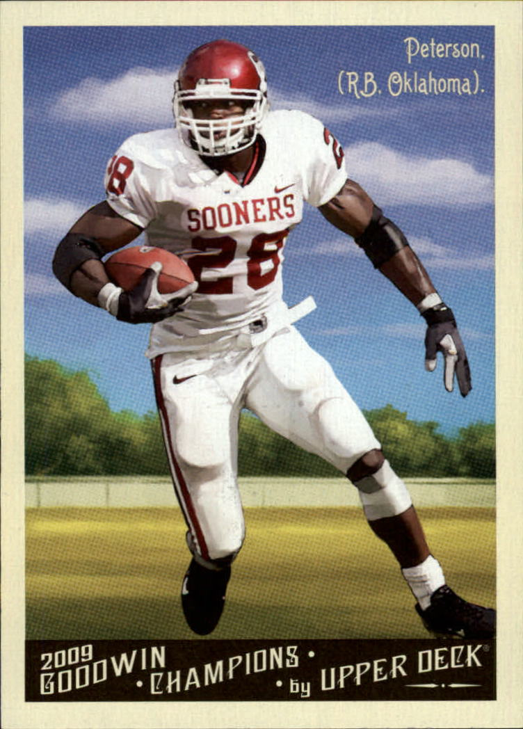2009 Upper Deck Goodwin Champions #94 Adrian Peterson