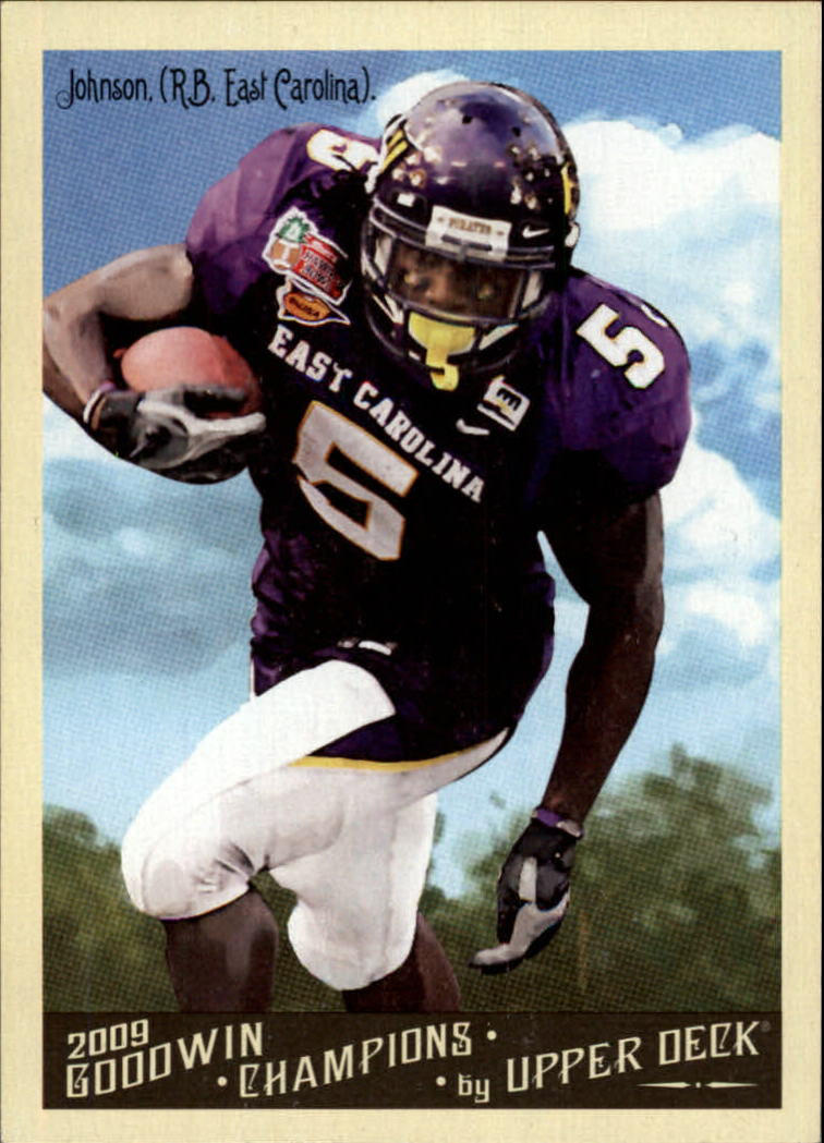 2009 Upper Deck Goodwin Champions #125 Chris Johnson