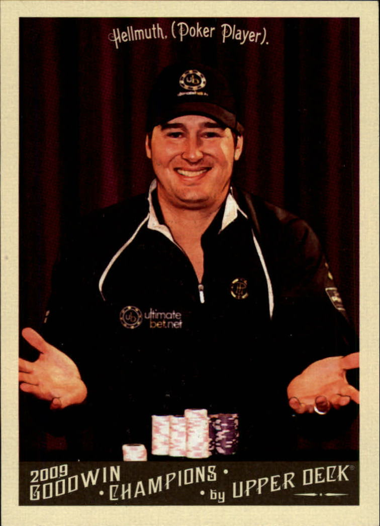 2009 Upper Deck Goodwin Champions #146 Phil Hellmuth