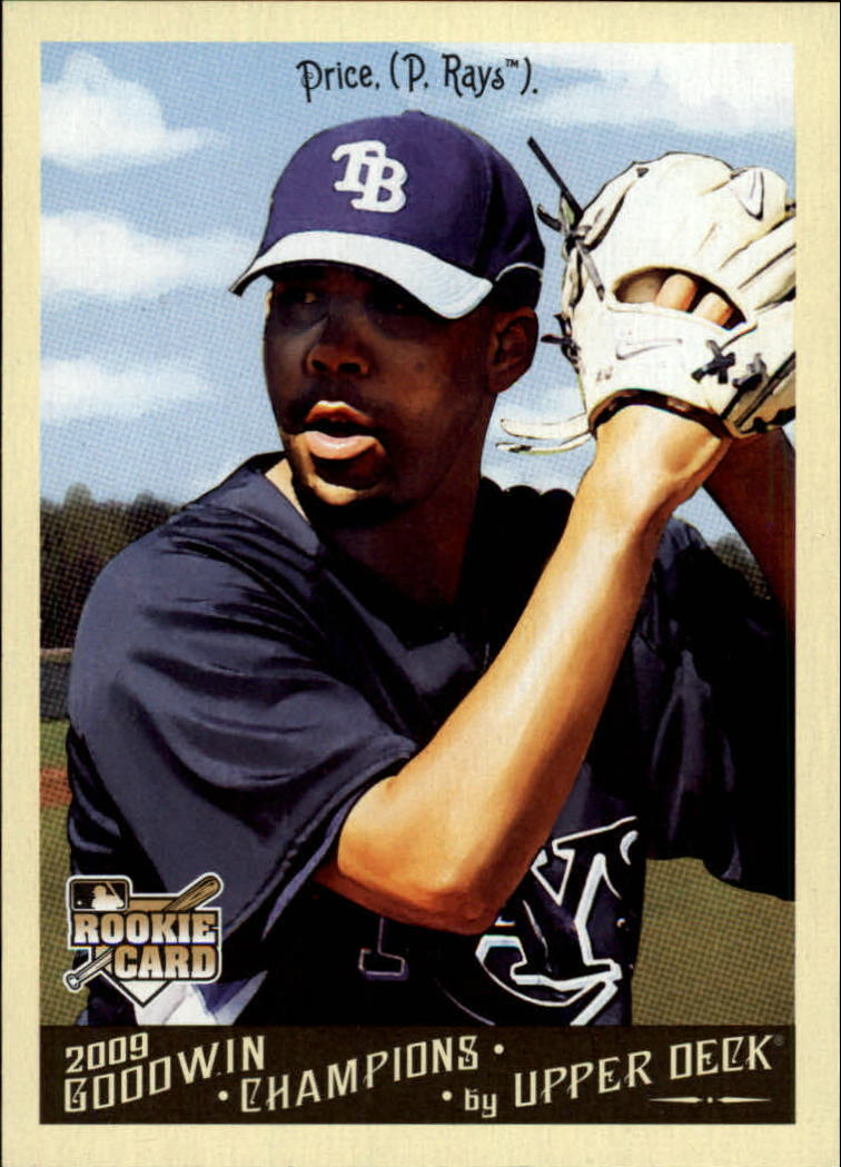 2009 Upper Deck Goodwin Champions #148 David Price RC