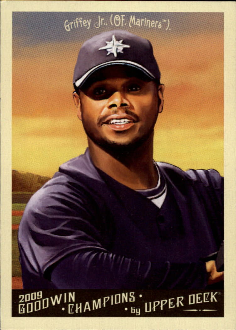2009 Upper Deck Goodwin Champions #1b Ken Griffey Jr. Night SP