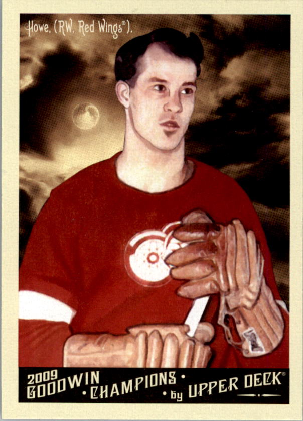 2009 Upper Deck Goodwin Champions #140b Gordie Howe Night SP