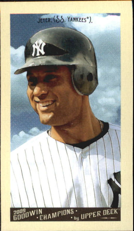 2009 Upper Deck Goodwin Champions Mini #2 Derek Jeter