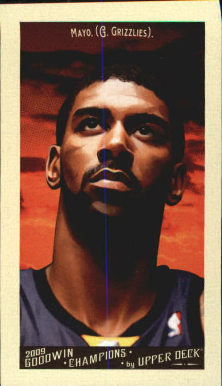 2009 Upper Deck Goodwin Champions Mini #24 O.J. Mayo