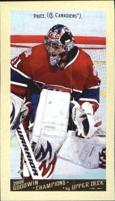 2009 Upper Deck Goodwin Champions Mini #38 Carey Price