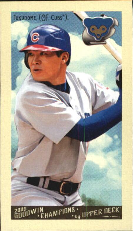 2009 Upper Deck Goodwin Champions Mini #54 Kosuke Fukudome