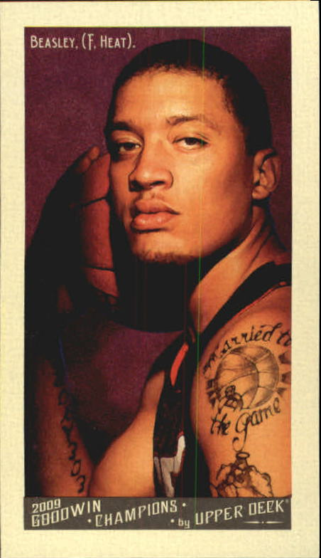 2009 Upper Deck Goodwin Champions Mini #61 Michael Beasley