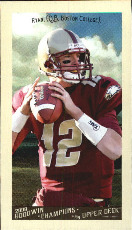 2009 Upper Deck Goodwin Champions Mini #68 Matt Ryan