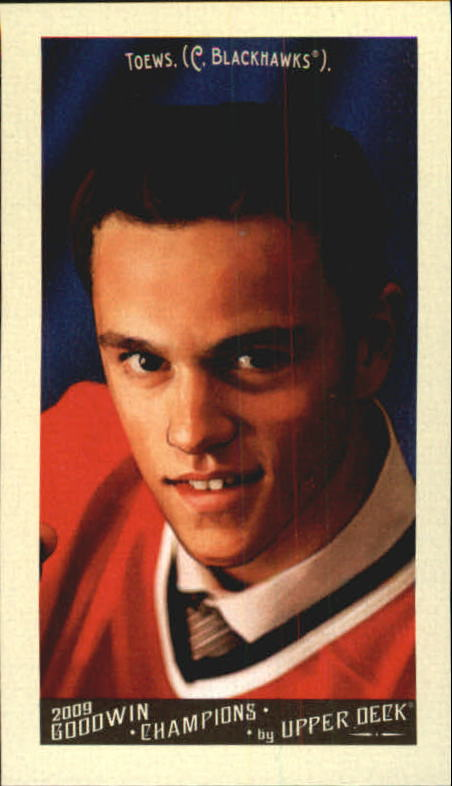 2009 Upper Deck Goodwin Champions Mini #90 Jonathan Toews