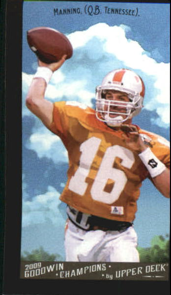2009 Upper Deck Goodwin Champions Mini Black Border #45 Peyton Manning