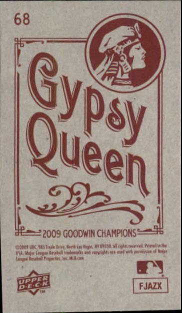 2009 Upper Deck Goodwin Champions Mini Black Border #68 Matt Ryan back image