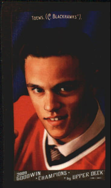 2009 Upper Deck Goodwin Champions Mini Black Border #90 Jonathan Toews