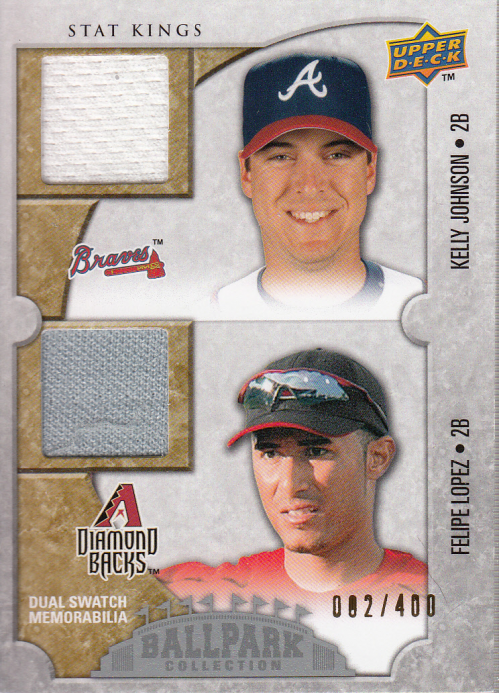 2009 Upper Deck Ballpark Collection #185 Kelly Johnson/Felipe Lopez/400