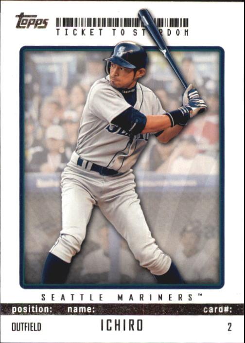2009 Topps Ticket to Stardom #2 Ichiro Suzuki