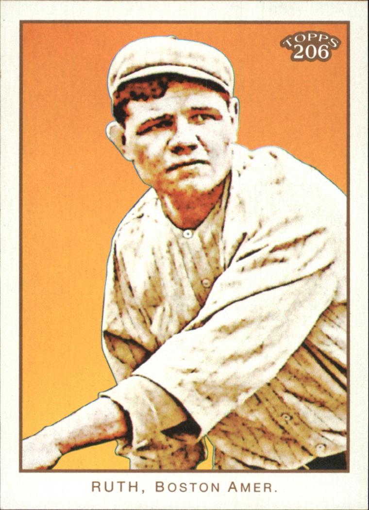 2009 Topps 206 #287a Babe Ruth