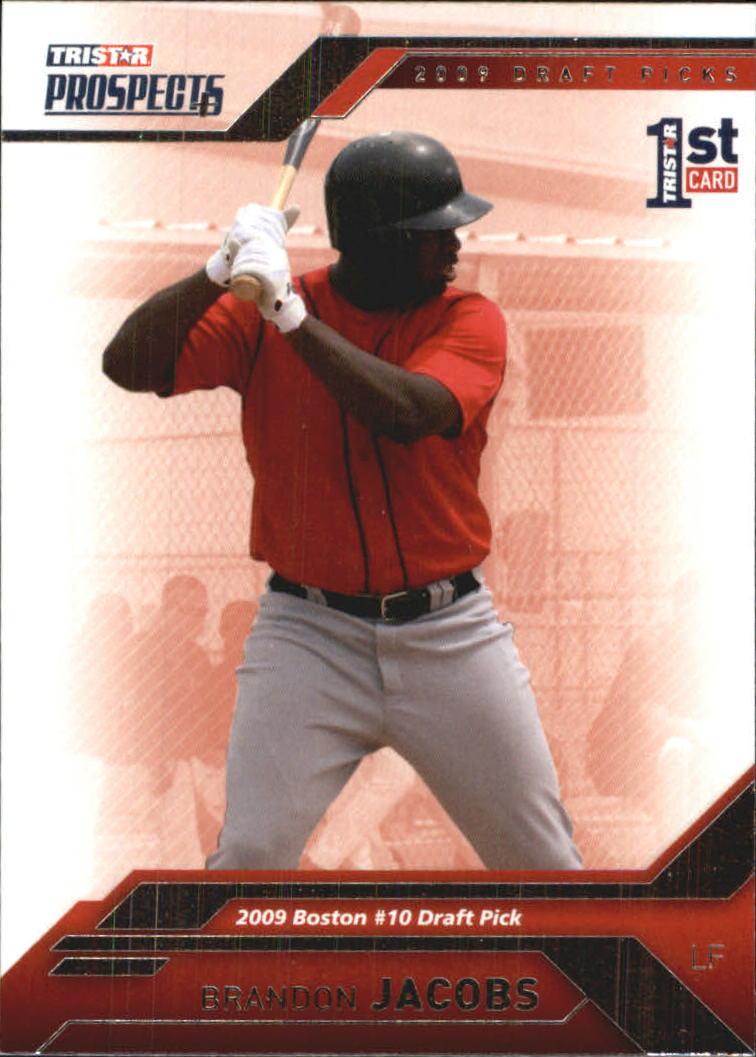 2009 TRISTAR Prospects Plus #67 Brandon Jacobs