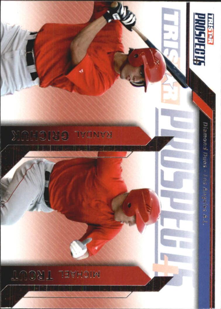 2009 TRISTAR Prospects Plus #81 Randal Grichuk/Michael Trout